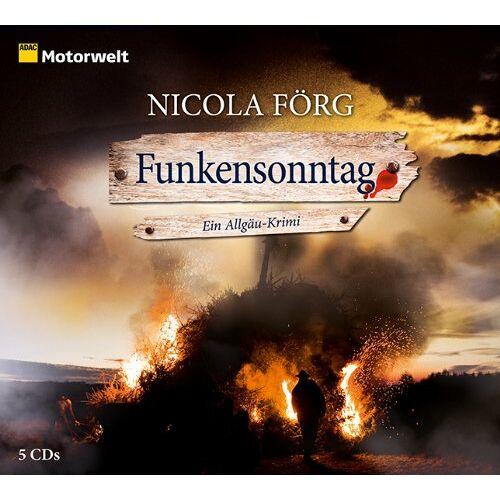 Nicola Förg - Funkensonntag (ADAC Motorwelt Hörbuch) - Preis vom 16.05.2021 04:43:40 h