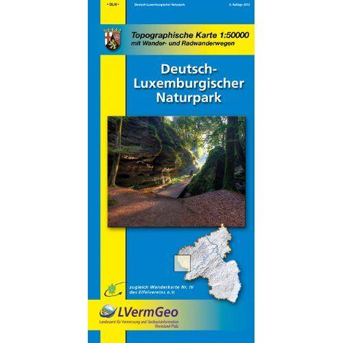 - Naturparkkarten, Deutsch-Luxemburgischer Naturpark - Preis vom 11.05.2021 04:49:30 h