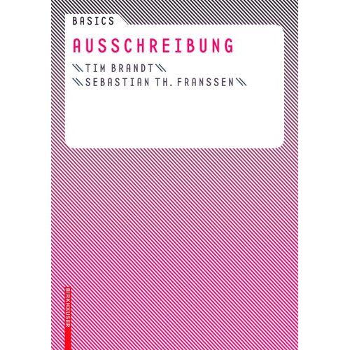 Tim Brandt - Basics Ausschreibung - Preis vom 25.02.2021 06:08:03 h