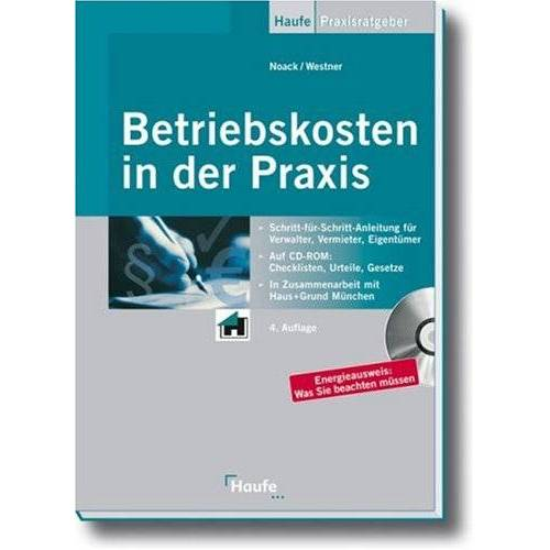 Birgit Noack - Betriebskosten in der Praxis - Preis vom 14.01.2021 05:56:14 h