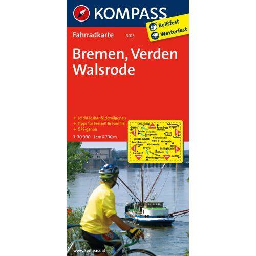- Bremen - Verden - Walsrode 1 : 70 000: Fahrradkarte. GPS-genau - Preis vom 25.05.2020 05:02:06 h