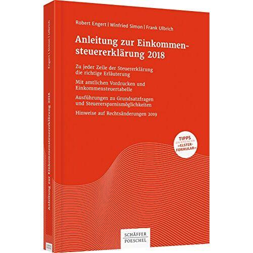 Robert Engert - Anleitung zur Einkommensteuererklärung 2018 - Preis vom 24.01.2021 06:07:55 h