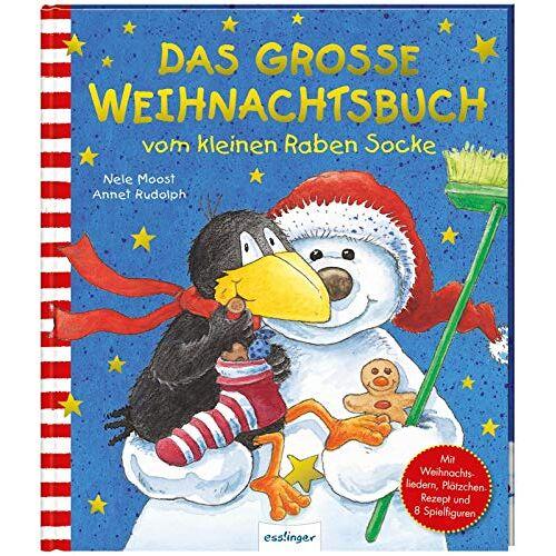 Nele Moost - Das große Weihnachtsbuch vom kleinen Raben Socke (Der kleine Rabe Socke) - Preis vom 18.04.2021 04:52:10 h