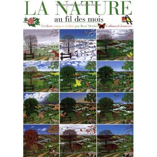 René Mettler - La nature au fil des mois - Preis vom 21.10.2020 04:49:09 h