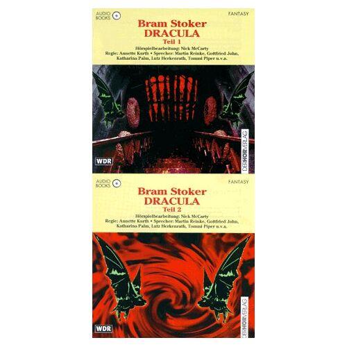 Bram Stoker - Dracula 1/2. Audiobook. 3 CDs - Preis vom 20.10.2020 04:55:35 h