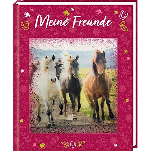 - Freundebuch - Pferdefreunde - Meine Freunde: mit 3-D-Bild - Preis vom 08.07.2020 05:00:14 h