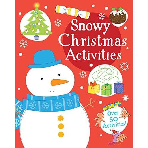 Parragon Books Ltd - Snowy Christmas Activities: Over 50 Activities! - Preis vom 03.05.2021 04:57:00 h