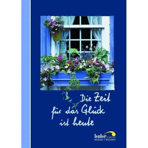- Die Zeit für das Glück ist heute, Postkartenbuch - Preis vom 07.04.2020 04:55:49 h