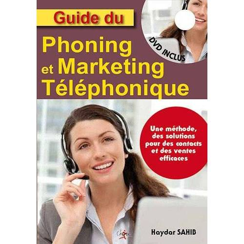 Haydar Sahib - Guide du phoning et du marketing telephonique (1DVD) - Preis vom 11.04.2021 04:47:53 h