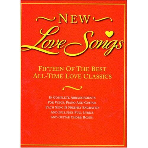 - New Love Songs Pvg: Noten für Gesang, Klavier (Gitarre) - Preis vom 11.05.2021 04:49:30 h