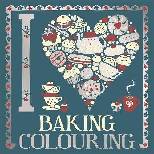 Various - I Heart Baking Colouring (Colouring Books) - Preis vom 24.02.2021 06:00:20 h