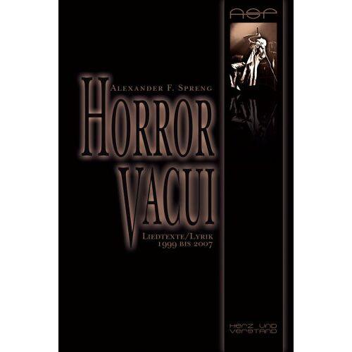 - Horror Vacui - Preis vom 13.05.2021 04:51:36 h