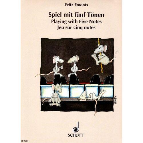 - Spiel mit fünf Tönen: Lieder und Stücke für den ersten Anfang am Klavier. Klavier. - Preis vom 16.04.2021 04:54:32 h