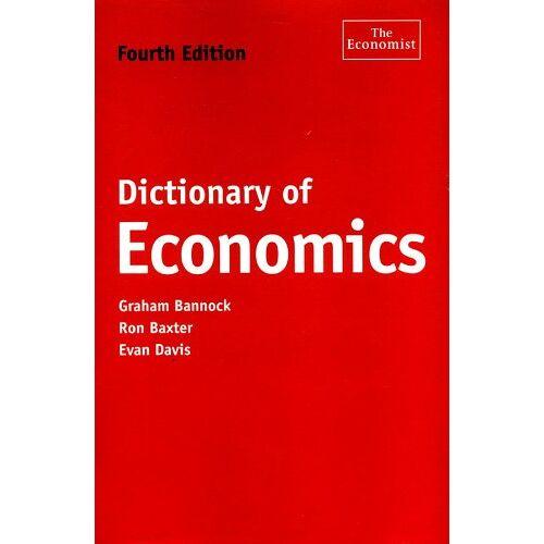 Graham Bannock - Dictionary of Economics (Economist) - Preis vom 15.05.2021 04:43:31 h