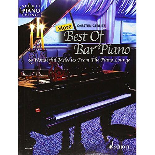 Various - More Best Of Bar Piano (30 mélodies arrangées par Gerlitz Carsten) - Piano - Preis vom 20.10.2020 04:55:35 h