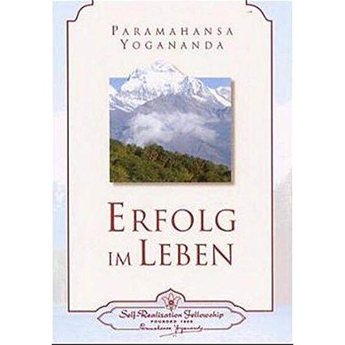 Paramahansa Yogananda - Erfolg im Leben - Preis vom 25.07.2020 04:54:25 h