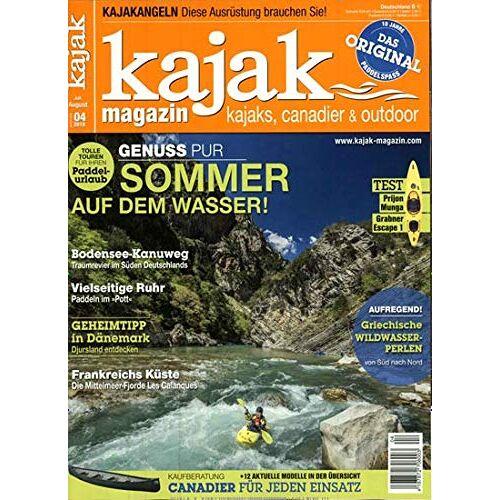 Kajak Magazin - Kajak Magazin 4/2019 - Preis vom 21.01.2021 06:07:38 h
