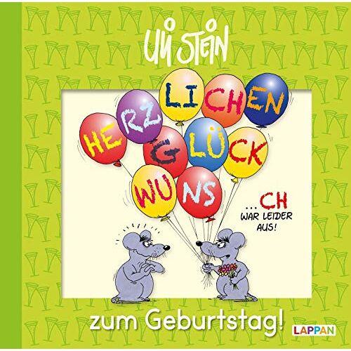 Uli Stein - Herzlichen Glückwunsch zum Geburtstag! - Preis vom 05.09.2020 04:49:05 h