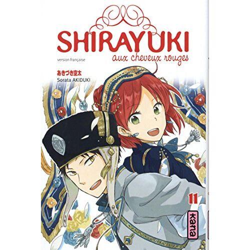 Sorata Akiduki - Shirayuki aux cheveux rouges, Tome 11 : - Preis vom 24.02.2021 06:00:20 h