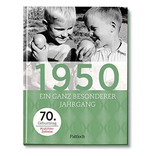 - 1950: Ein ganz besonderer Jahrgang - 70. Geburtstag - Preis vom 05.09.2020 04:49:05 h