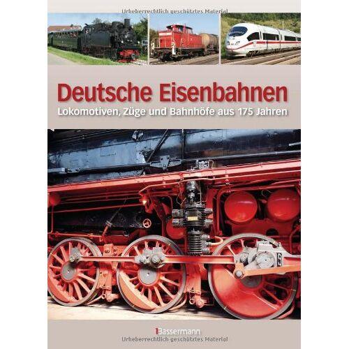 Michael Dörflinger - Deutsche Eisenbahnen: Lokomotiven, Züge und Bahnhöfe aus 175 Jahren - Preis vom 13.05.2021 04:51:36 h