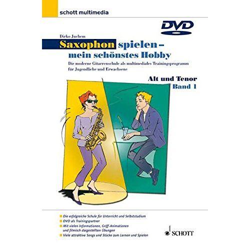 - Saxophon spielen - mein schönstes Hobby, Alt- u. Tenorsaxophon, 1 DVD - Preis vom 22.01.2021 05:57:24 h