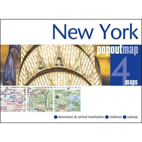 Popout Maps - New York: PopOut Maps - Preis vom 20.01.2021 06:06:08 h