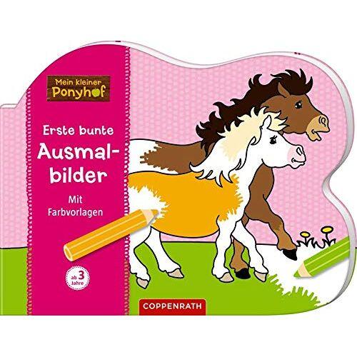 - Mein kleiner Ponyhof: Erste bunte Ausmalbilder: Mit Farbvorlagen - Preis vom 22.09.2019 05:53:46 h