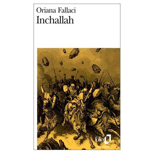 Oriana Fallaci - Inchallah (Folio) - Preis vom 27.02.2021 06:04:24 h