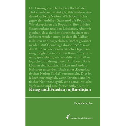 - Krieg und Frieden in Kurdistan: Perspektiven für eine politische Lösung der kurdischen Frage - Preis vom 26.02.2021 06:01:53 h