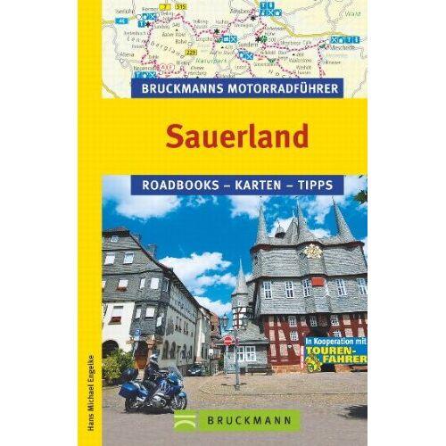 Engelke, Hans Michael - Bruckmanns Motorradführer Sauerland: Roadbooks - Karten - Tipps - Preis vom 21.10.2020 04:49:09 h