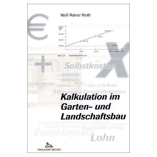 - Kalkulation im Garten- und Landschaftsbau - Preis vom 15.05.2021 04:43:31 h