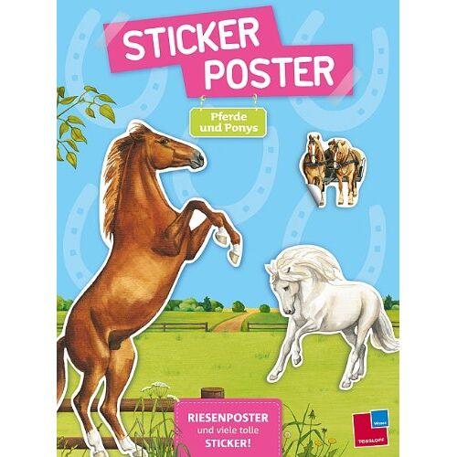 - Sticker-Poster: Pferde und Ponys - Preis vom 05.09.2020 04:49:05 h