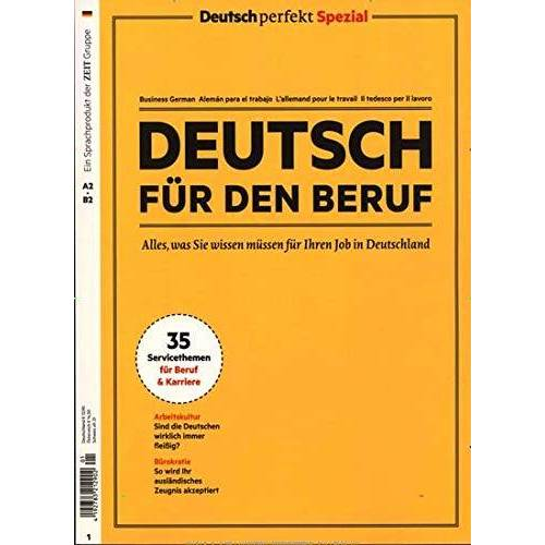 Deutsch für den Beruf - Deutsch für den Beruf 10/2019 Deutsch für den Beruf - Preis vom 16.05.2021 04:43:40 h