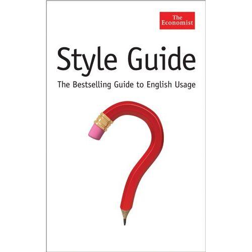 The Economist - Style Guide (Economist) - Preis vom 23.02.2021 06:05:19 h