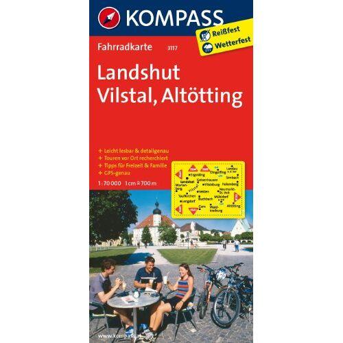 - Landshut - Vilstal - Altötting: Fahrradkarte. GPS-genau. 1:70000 - Preis vom 18.10.2020 04:52:00 h