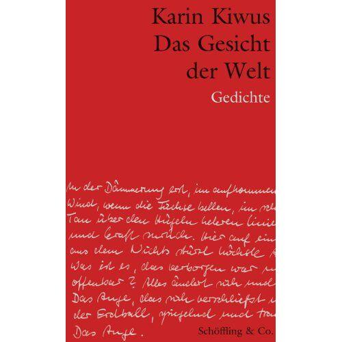 Karin Kiwus - Das Gesicht der Welt - Preis vom 08.04.2021 04:50:19 h