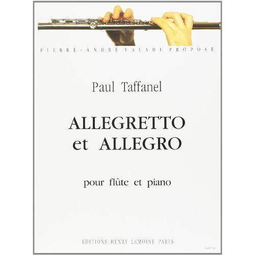 Taffanel - Allegretto et Allegro pour flûte et piano - Preis vom 06.03.2021 05:55:44 h