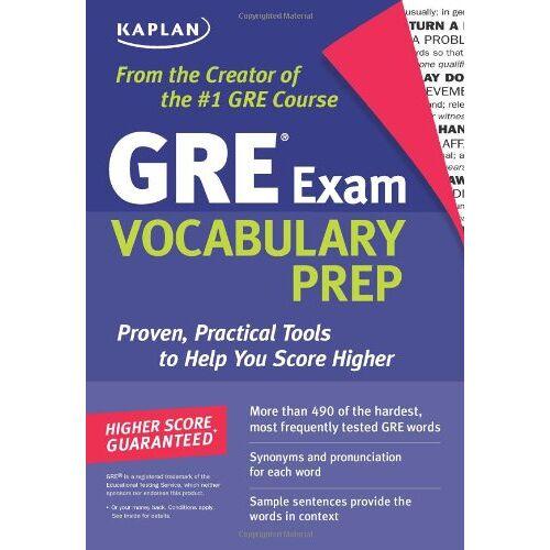 Kaplan - Kaplan GRE Exam Vocabulary Prep (Kaplan 5 Steps to Success: GRE Vocabulary) - Preis vom 12.05.2021 04:50:50 h