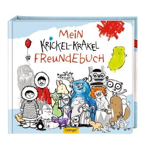Die Krickelkrakels - Krickel-Krakel Freundebuch - Preis vom 26.02.2021 06:01:53 h