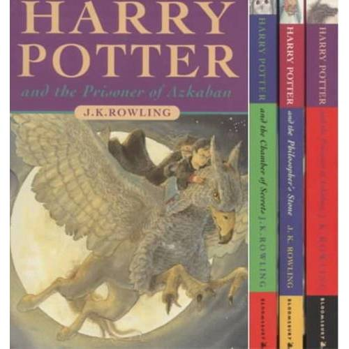Rowling, Joanne K. - Harry Potter, Engl. ed., 3 Vols. - Preis vom 18.04.2021 04:52:10 h