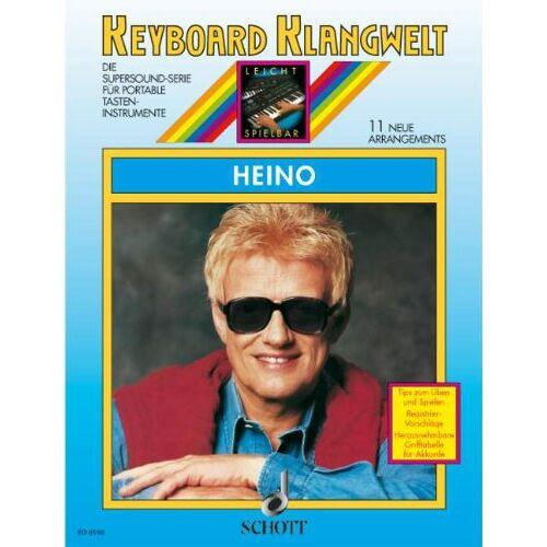 Steve Boarder - Heino: 11 neue Arrangements. Keyboard. (Keyboard Klangwelt) - Preis vom 23.02.2021 06:05:19 h