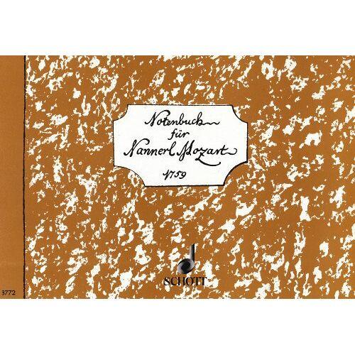 Heinz Schüngeler - Notenbuch für Nannerl: Klavier. - Preis vom 20.10.2020 04:55:35 h