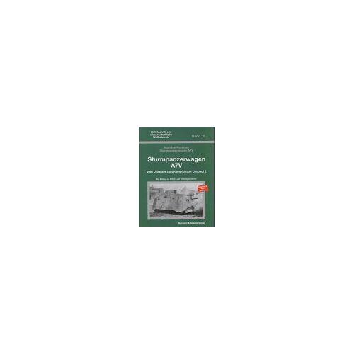 Heinrich Walle - Sturmpanzerwagen A7V: Vom Urpanzer zum Leopard 2 - Preis vom 20.04.2021 04:49:58 h