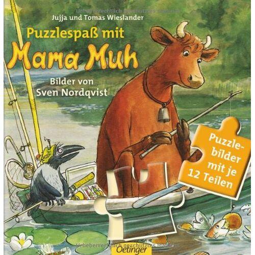Jujja Wieslander - Puzzlespaß mit Mama Muh - Preis vom 06.04.2021 04:49:59 h