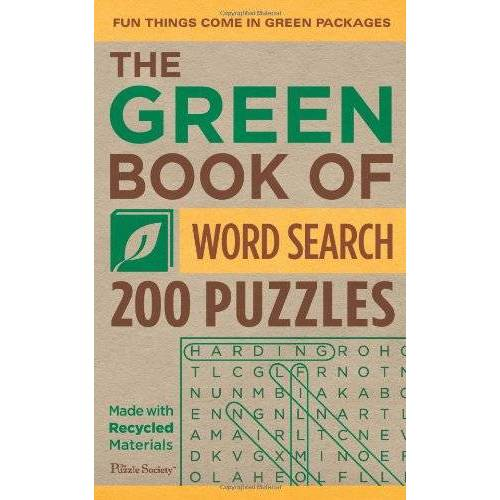 The Puzzle Society - The Green Book of Word Search: 200 Puzzles - Preis vom 15.01.2021 06:07:28 h