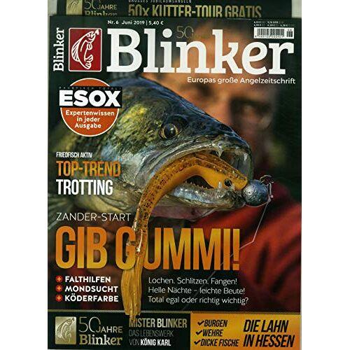 Blinker - Blinker 6/2019 Gib Gummi! - Preis vom 20.10.2020 04:55:35 h