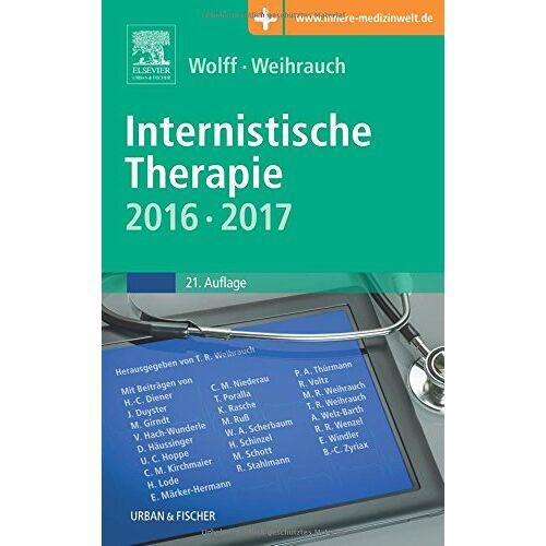 Hans-Peter Wolff - Internistische Therapie: 2016/2017, mit Zugang zur Medizinwelt - Preis vom 11.05.2021 04:49:30 h
