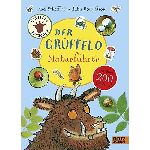 Axel Scheffler - Der Grüffelo-Naturführer: Mit mehr als 200 Stickern - Preis vom 10.05.2021 04:48:42 h