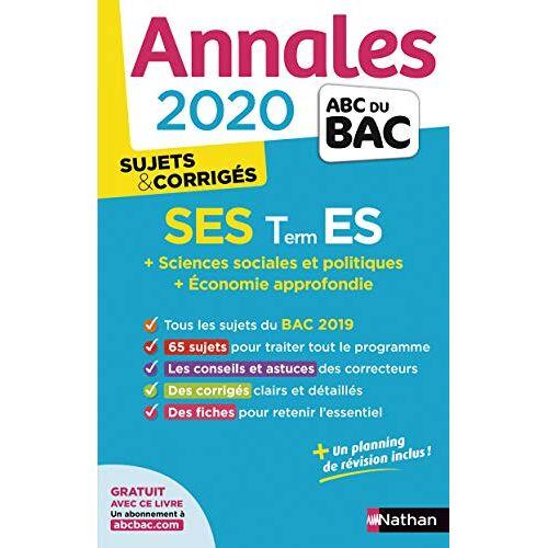- SES Tle ES : Sujets & corrigés - Preis vom 27.02.2021 06:04:24 h